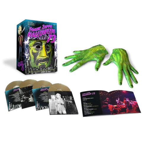 Frank Zappa - Halloween 73 4CD - direct audio
