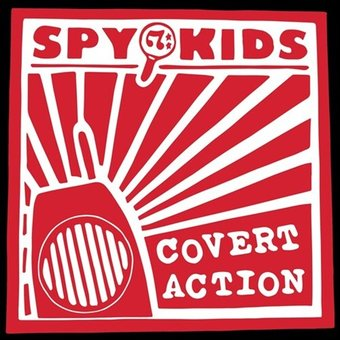 Spy Kids - Covert Action Vinyl LP - direct audio