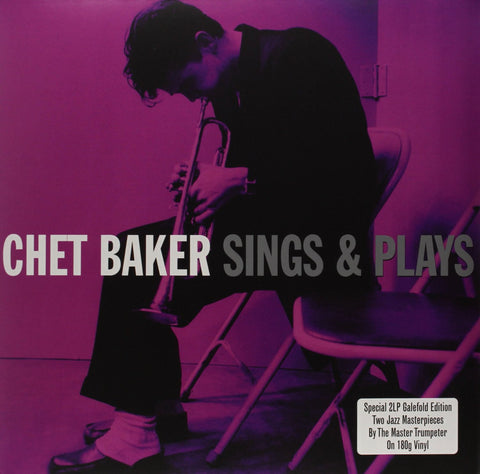 Chet Baker - Sings/Sings And Plays on 180g Import 2LP - direct audio