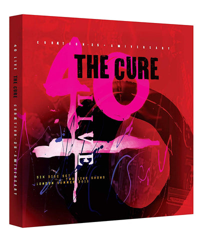 The Cure - Curaetion 25: Anniversary 2Blu-ray + 4CD Box Set