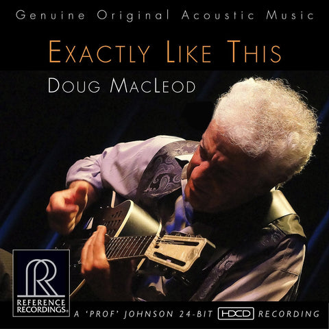 Doug MacLeod - Exactly Like This on 200g 45RPM 2LP - direct audio