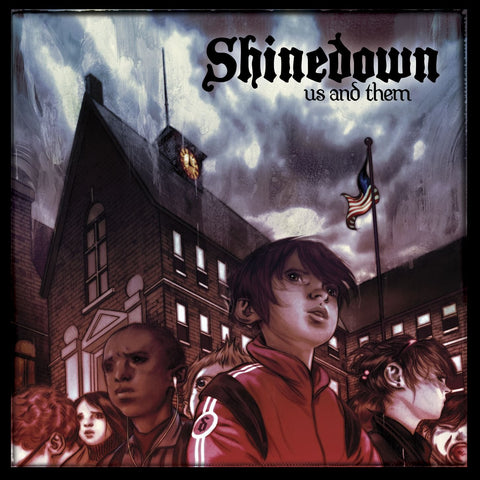 Shinedown - Us and Them Colored Vinyl 2LP Coming April 30 2021 Pre-order - direct audio
