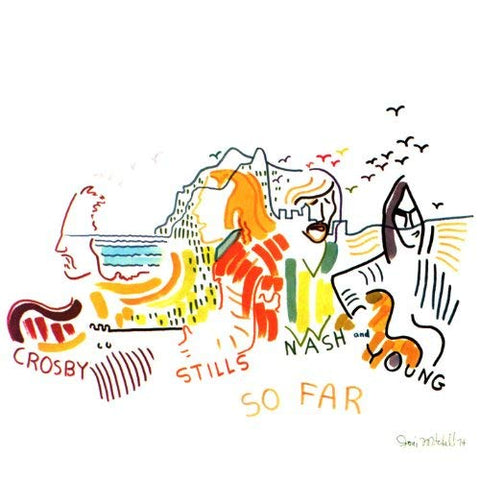 Crosby, Stills, Nash And Young - So Far Colored Vinyl LP (Awaiting Repress) - direct audio