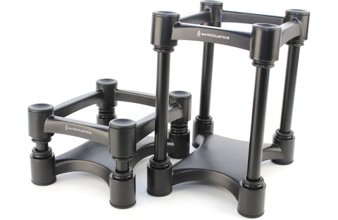 IsoAcoustics - ISO-155 Monitor Stands Supports Medium Speakers Pair - direct audio