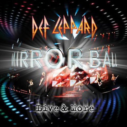 Def Leppard - Mirrorball: Live and More 180g Vinyl 3LP