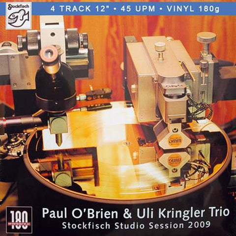 "Paul O'Brien - Stockfisch Studio Session 2009 EP on Import 180g 45RPM 12"" Vinyl - direct audio"