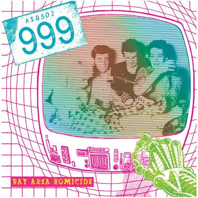 999 - Bay Area Homicide Colored Vinyl LP - direct audio