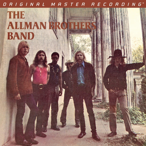 The Allman Brothers Band - The Allman Brothers Band on Numbered Limited Edition Hybrid SACD from Mobile Fidelity - direct audio