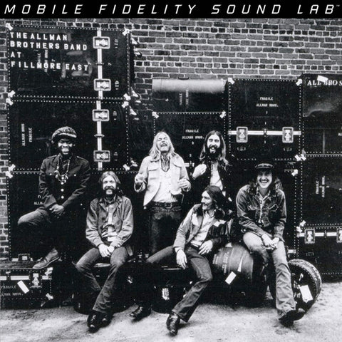 The Allman Brothers Band - At Fillmore East on Numbered Limited Edition 180g Vinyl 2LP from Mobile Fidelity - direct audio