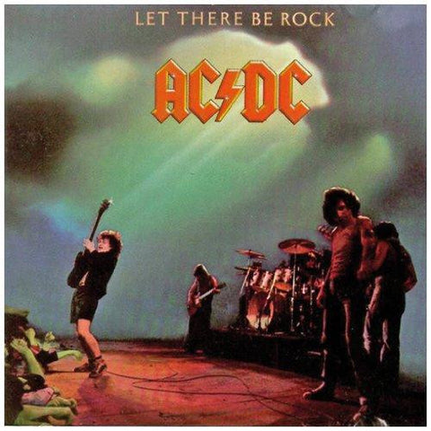 AC/DC - Let There Be Rock on Vinyl LP - direct audio