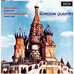 Borodin - String Quartet No.2 - Shostakovich - Quartet No.8 - Borodin Quartet 180g Import LP - direct audio