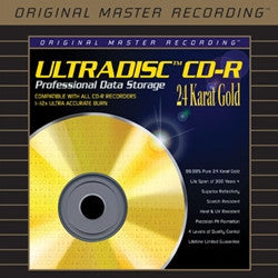 Mobile Fidelity - Ultradisc 24K Gold CD-R 5-Pack in Jewel Cases CDR - direct audio