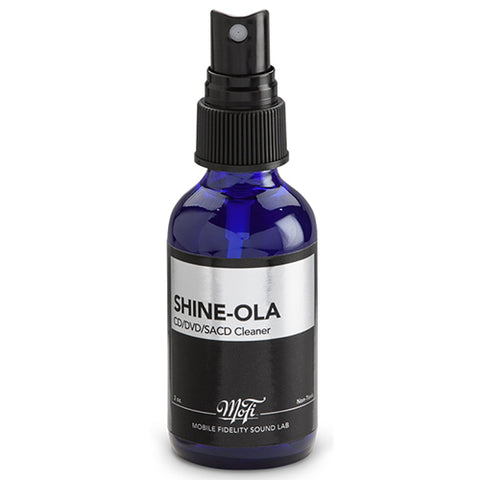 Mobile Fidelity - Shine-Ola Optical Disc Cleaner - direct audio