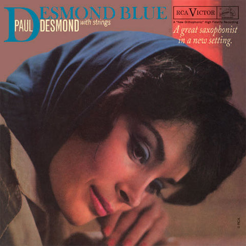 Paul Desmond - Desmond Blue on 180g Import LP - direct audio
