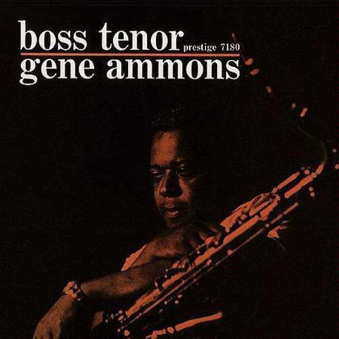 Gene Ammons - Boss Tenor on Limited Edition 200g LP TBA - direct audio
