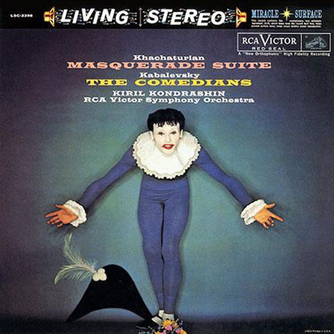 Khachaturian - The Masquerade Suite - Kabalevsky - The Comedians - Kondrashin - RCA Victor Symphony Orchestra on Limited Edition 200g LP - direct audio