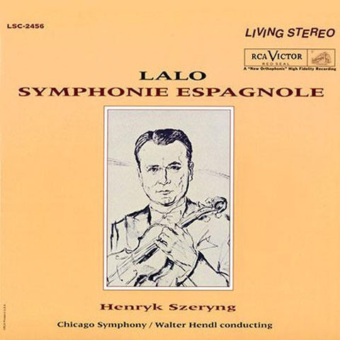 Lalo - Symphonie Espagnole - Szeryng - Hendl - Chicago Symphony Orchestra on 200g LP - direct audio