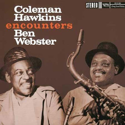 Coleman Hawkins - Coleman Hawkins Encounters Ben Webster on Hybrid SACD - direct audio