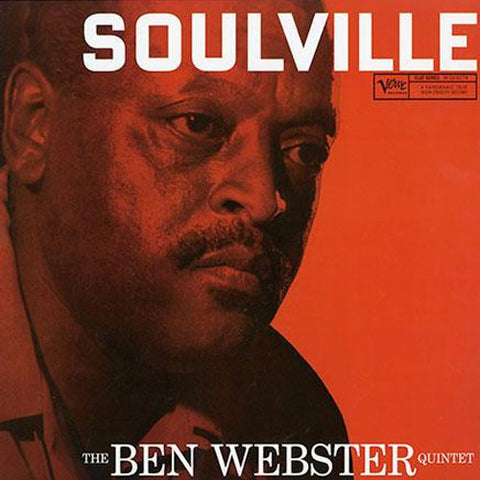 Ben Webster Quintet - Soulville on 200g 45RPM 2LP (Mono)