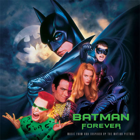 Batman Forever Music From and Inspired By the Motion Picture Vinyl 2LP