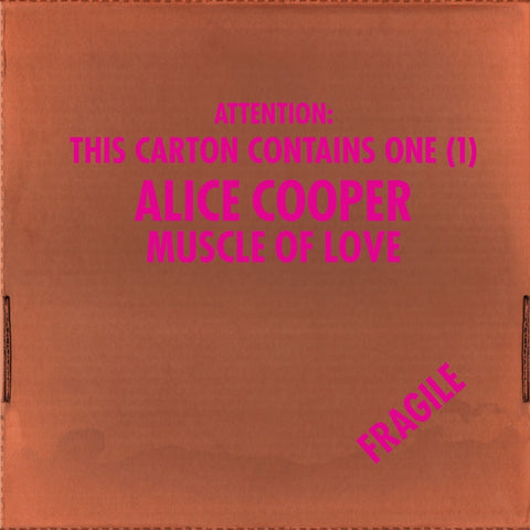 Alice Cooper - Muscle Of Love on Limited Edition 180g LP - direct audio
