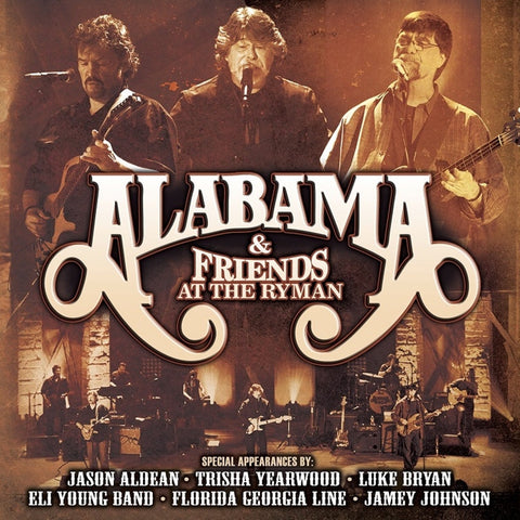 Alabama And Friends - At The Ryman on Limited Edition 2LP - direct audio