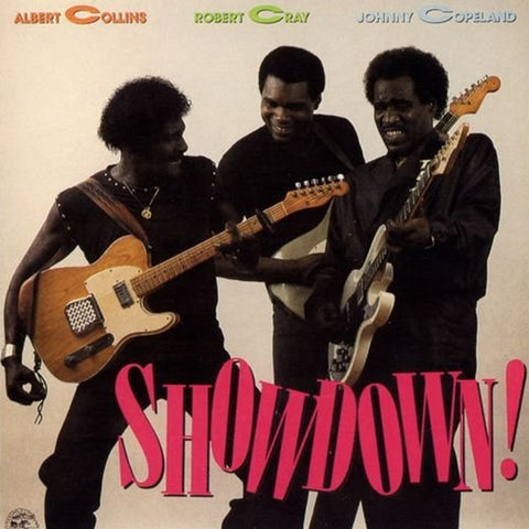 Albert Collins, Robert Cray And Johnny Copeland - Showdown 180g Vinyl LP - direct audio