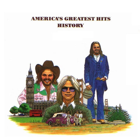 America - History: America's Greatest Hits on Limited Edition 180g LP - direct audio