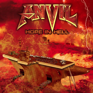Anvil - Hope in Hell Vinyl LP + Bonus Tracks - direct audio