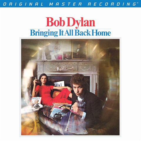 Bob Dylan - Bringing It All Back Home on Numbered Limited Edition 180g 45RPM 2LP from Mobile Fidelity - direct audio