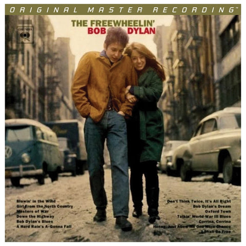 Bob Dylan - The Freewheelin' Bob Dylan on Numbered Limited Edition 180g 45RPM 2LP from Mobile Fidelity - direct audio