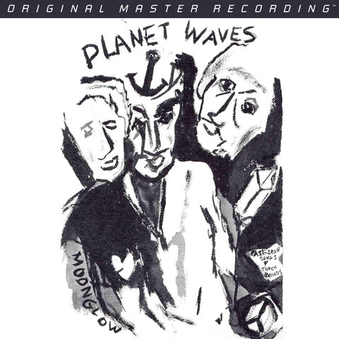 Bob Dylan - Planet Waves on Numbered Limited Edition Hybrid SACD from Mobile Fidelity - direct audio