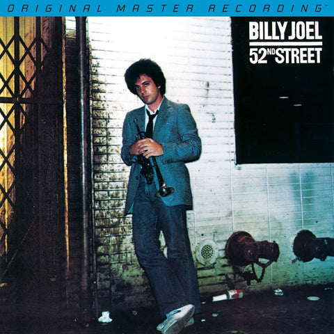 Billy Joel - 52nd Street on Numbered Limited Edition Hybrid SACD from Mobile Fidelity - direct audio