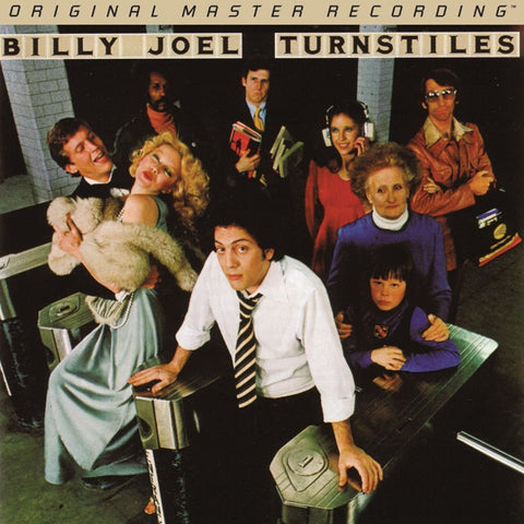 Billy Joel - Turnstiles on Numbered Limited Edition Hybrid SACD from Mobile Fidelity - direct audio