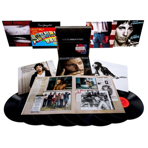 Bruce Springsteen - The Album Collection Vol. 1 1973-1984 on Limited Edition 180g 8LP Vinyl Box Set - direct audio