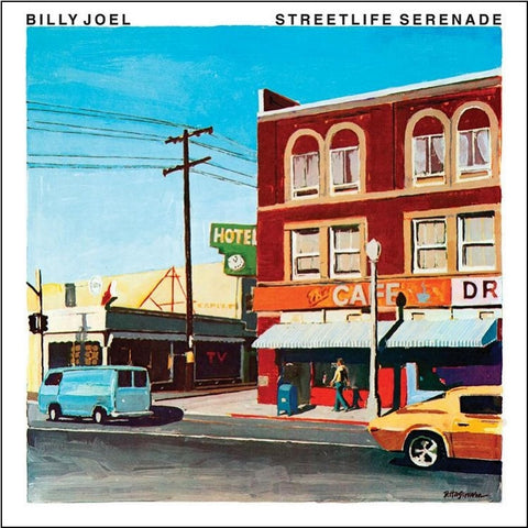 Billy Joel - Streetlife Serenade on Limited Edition 180g Vinyl LP - direct audio