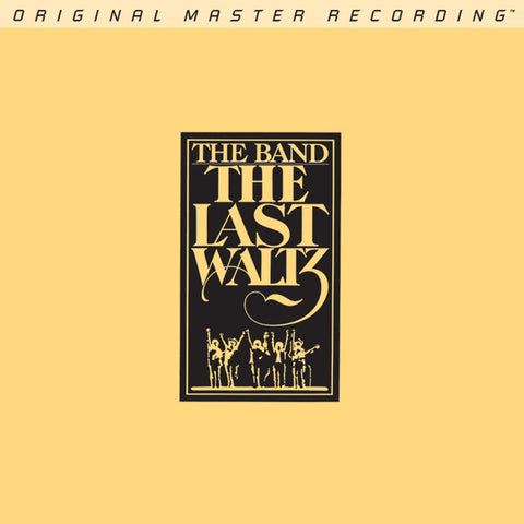 The Band - The Last Waltz on Numbered Limited Edition 2 x Hybrid SACD from Mobile Fidelity - direct audio