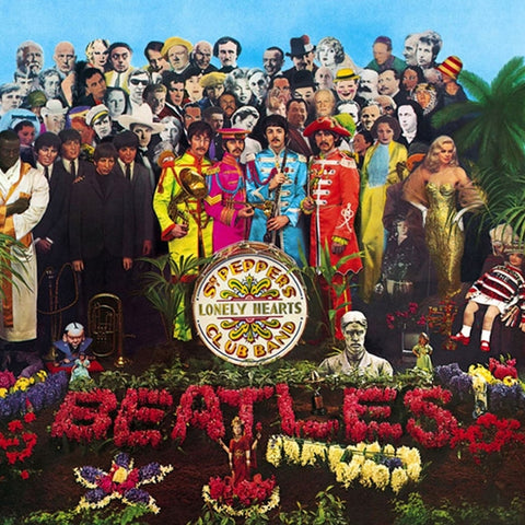 The Beatles - Sgt. Pepper's Lonely Hearts Club Band on CD - direct audio