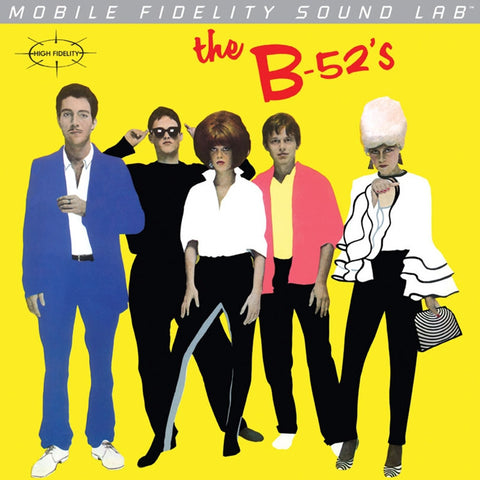 The B-52's - The B-52's on Numbered Limited Edition LP from Mobile Fidelity Silver Label - direct audio