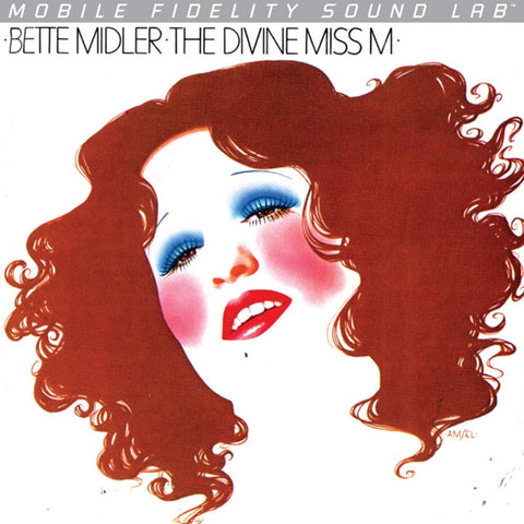 Bette Midler - The Divine Miss M on Numbered Limited Edition Vinyl LP from Mobile Fidelity Silver Label - direct audio