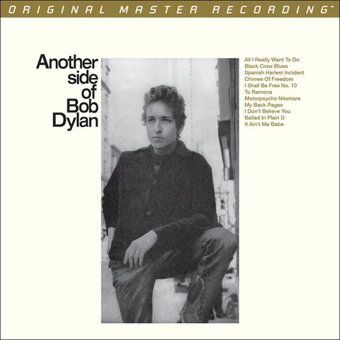 Bob Dylan - Another Side of Bob Dylan on Numbered Limited Edition 180g 45RPM 2LP from Mobile Fidelity - direct audio