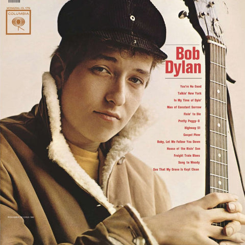 Bob Dylan - Bob Dylan on Mono LP - direct audio