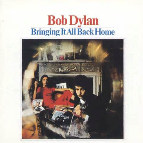 Bob Dylan - Bringing It All Back Home on 180g Mono LP - direct audio