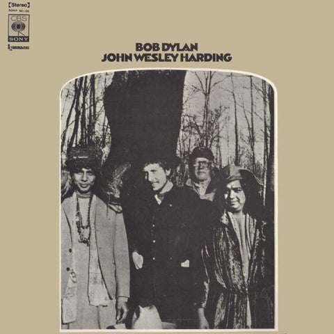 Bob Dylan - John Wesley Harding on 180g Mono Vinyl LP - direct audio