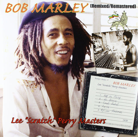 Bob Marley - Lee Scratch Perry Masters 180g Vinyl LP - direct audio
