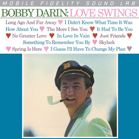 Bobby Darin - Love Swings on Numbered Limited Edition LP from Mobile Fidelity Silver Label - direct audio