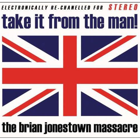 The Brian Jonestown Massacre - Take It From The Man on180g Red/Blue Vinyl 2LP - direct audio