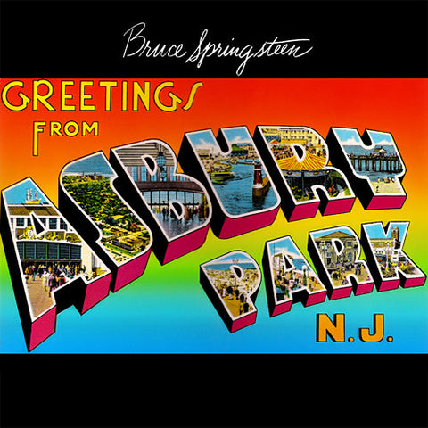 Bruce Springsteen - Greetings From Asbury Park, N.J. on 180g LP - direct audio