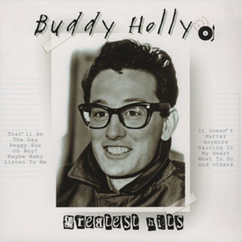 Buddy Holly - Greatest Hits on Import LP - direct audio