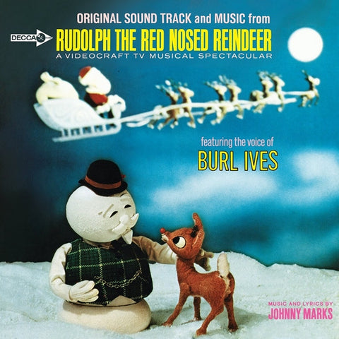 Burl Ives - Rudolph The Red Nosed Reindeer - Original Soundtrack And Music on LP - direct audio
